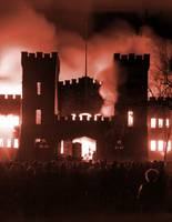 Nichols Hall Burning