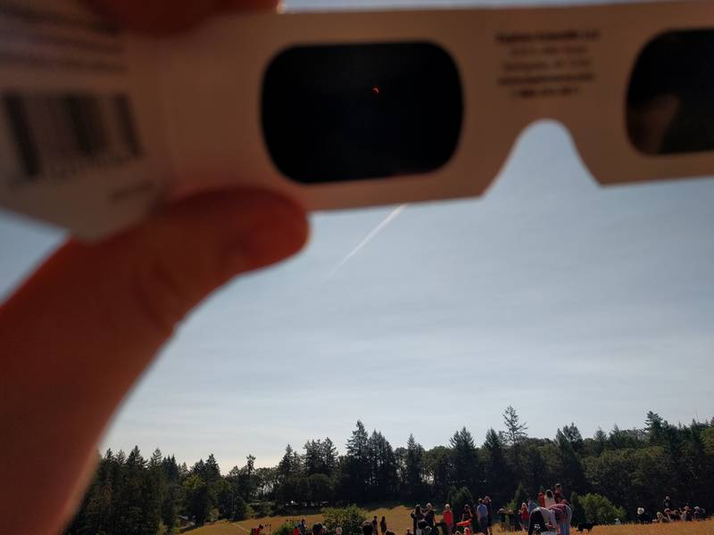 Eclipse post totality
