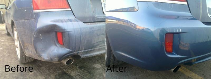 Before & After Repairs